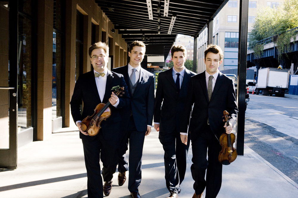 Click for information about the Escher Quartet