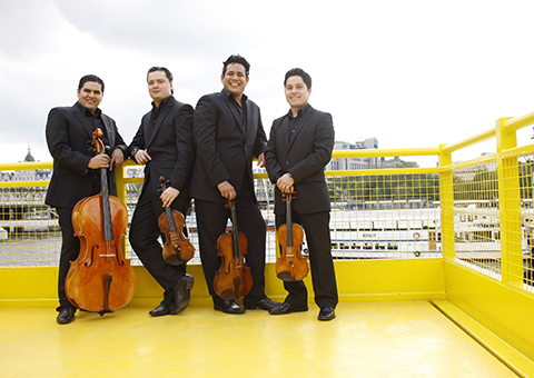 Click here for more information about the Simón Bolívar String Quartet