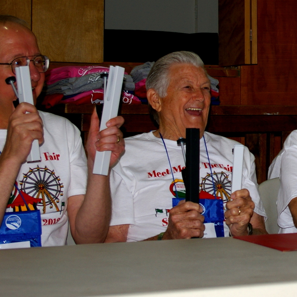 """The """"Ringers of Hope"""" bell choir of stroke survivors at the Retreat & Refresh Stroke Camp"""