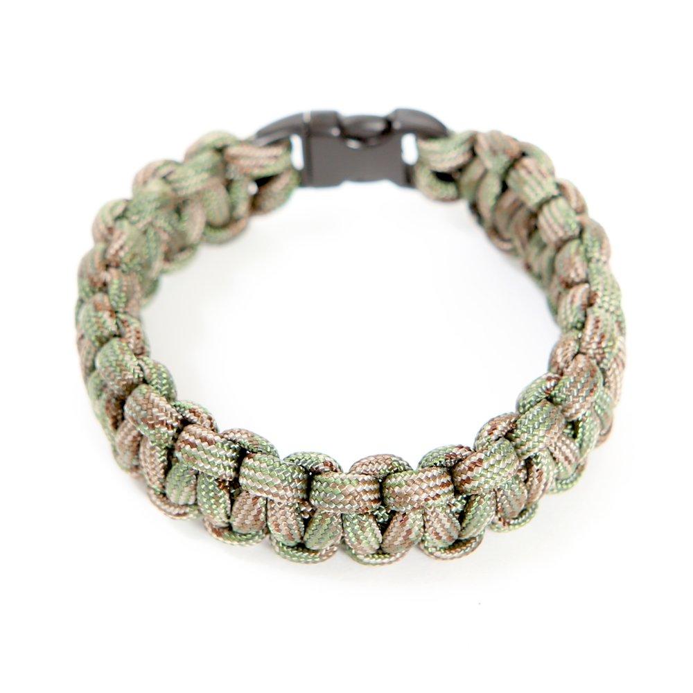 Paracord bracelet olive cameo.jpg