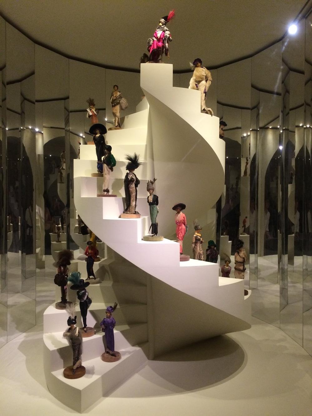 Stairway of Dolls!