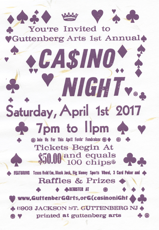 Casino Night 4/1/17