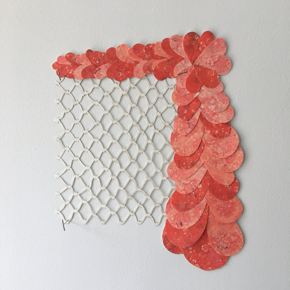 New work by Summer AIR Amanda Thackray on view at Guttenberg Arts July 28 - Sept. 21