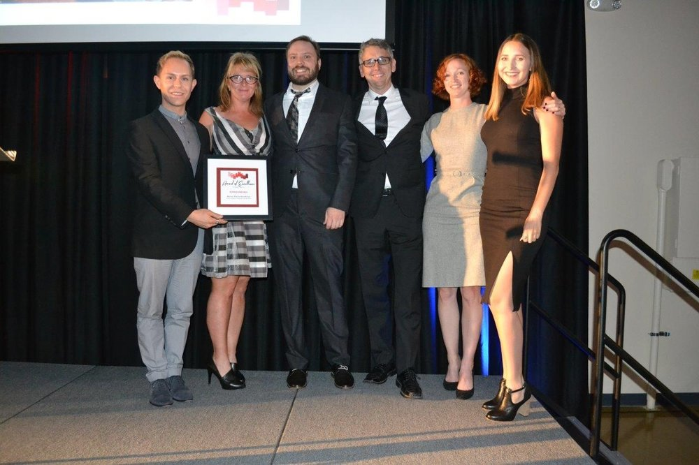 Surroundings Studio accepts the 2016 Award of Excellence