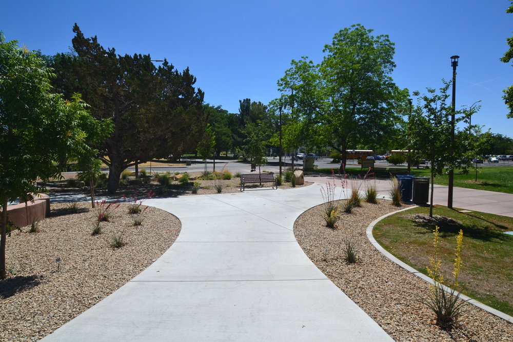 PROJECT SPOTLIGHT: NMSU McFie Circle Master Plan, Phase I & II - Las Cruces, New Mexico, MRWM Landscape Architects