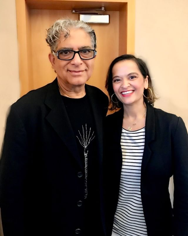 Meeting a legend in your field is a surreal experience. You've read so much about them that you can't believe they're made of the same stuff as the rest of us. And yet they are. Today I met Deepak Chopra, one of my heroes in medicine. A doctor who broke through so many boundaries to bring meditation to the masses long before it was the hip thing to do. He paved the way for a new breed of doctors, and opened up our worldview. I was totally in awe meeting him today and will be forever grateful for the impact he's had on my career and field. #meditation #doctor #boston #harvard #zen #mindbodyspirit