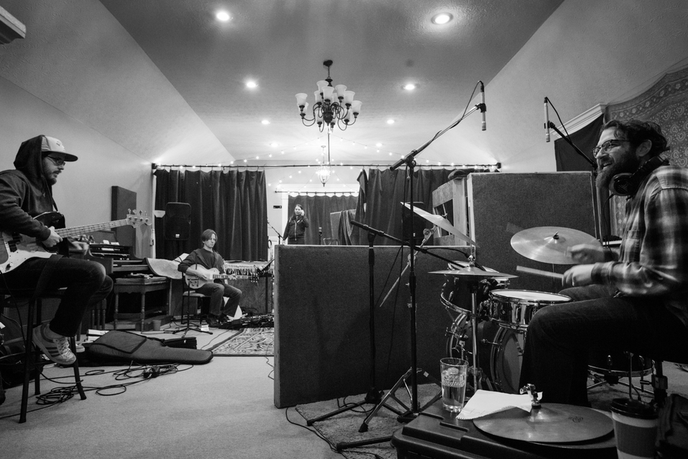 "Rich Brinsfield, Shane Lamb, Mikie Martel, Jon Radford | Amanda Broadway - Recording ""Real Thing"" 