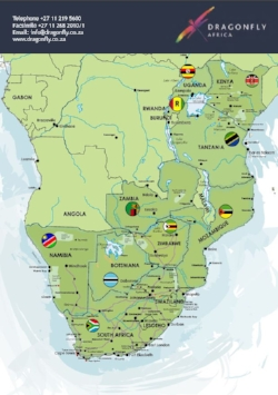 Southern And East Africa Jones Co Collection - Africa map pdf