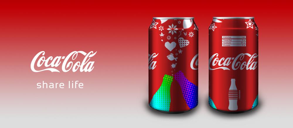 """Coka-Cola """"Share Life"""""""