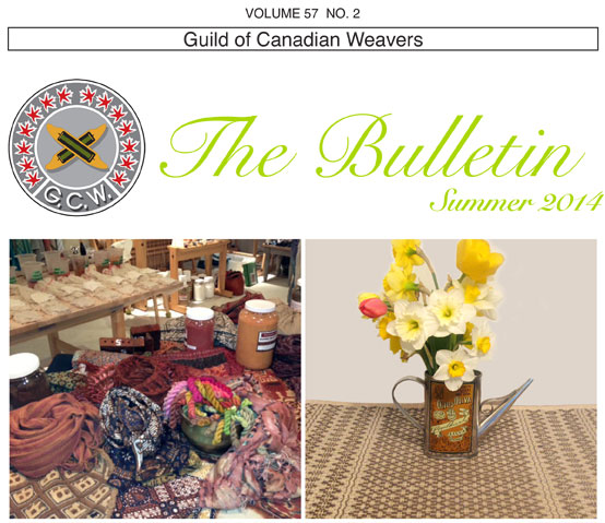guild of canadian weavers summer 2014