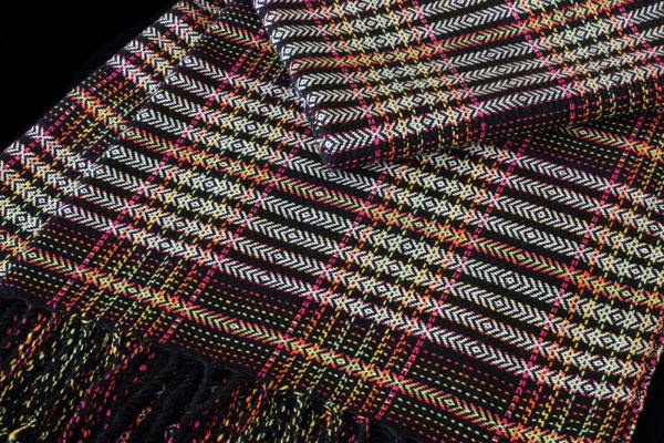 Electric Rainbow Collection Original: 2016 100% GOTS Certified Organic Cotton Designed & Handwoven by Dani Ortman