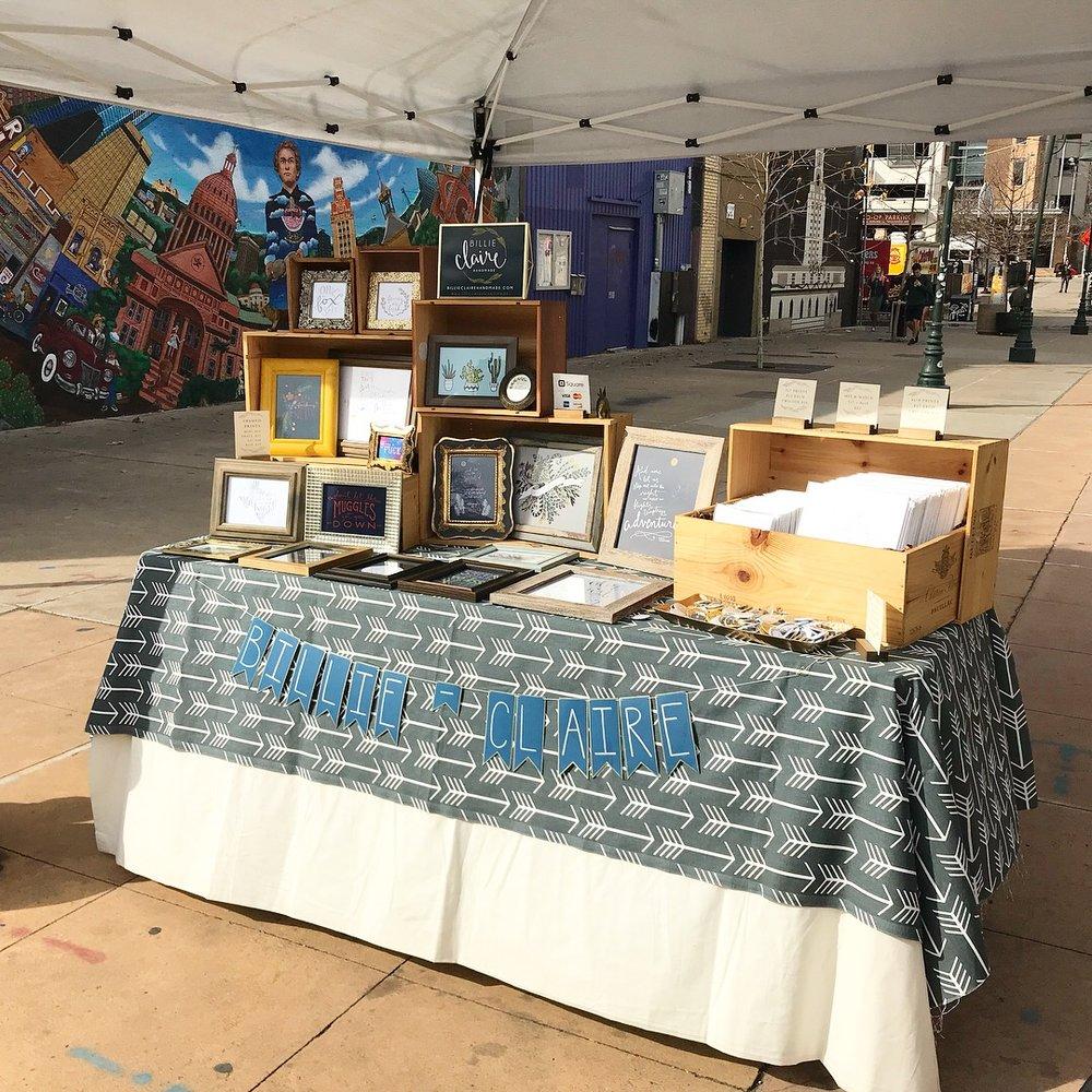 23rd Street Artists Market 2.2018