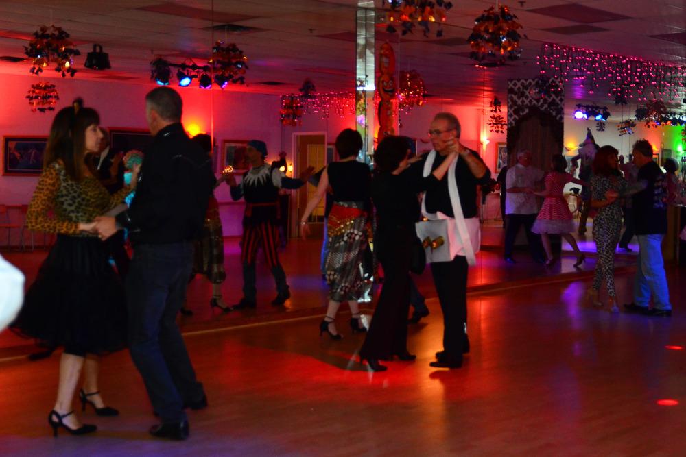 Halloween Dance Party at Quick Quick Slow Ballroom Dance Studio
