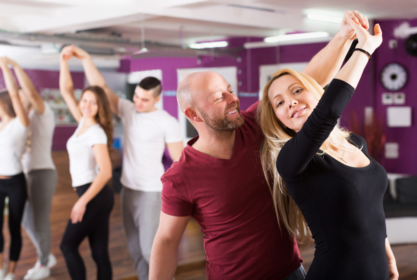 Even though you may not feel as graceful or suave as Fred Astaire, adult dance lessons can be a fun to improve your coordination