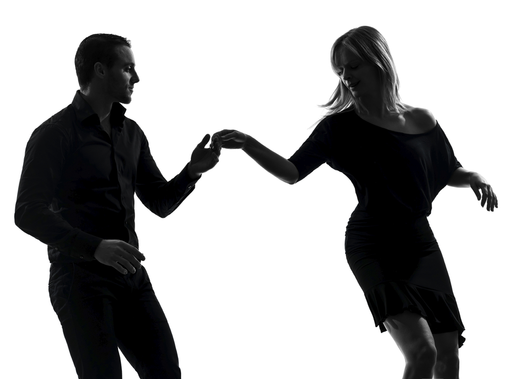 Being a good ballroom dancing partner requires learning how to follow the leader with grace.