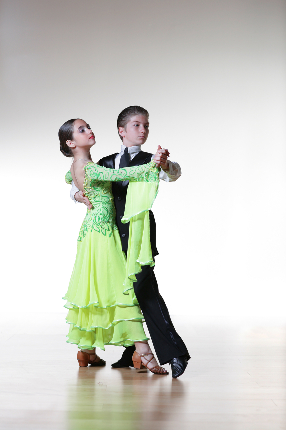 Ballroom dancing is often thought of as an activity for adults, but it can be fun for children too.