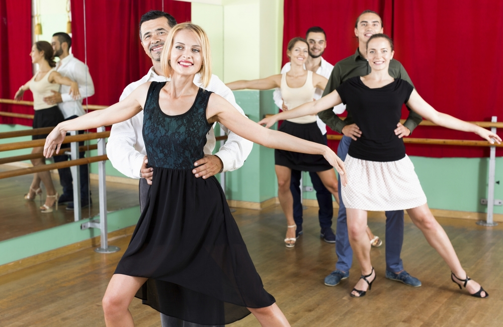 Ballroom dance lessons can help you become a more confident and capable dancer in social settings.