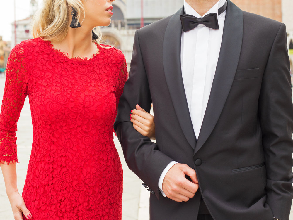 Just as in dancing, there are rules and etiquette to follow when selecting formalwear