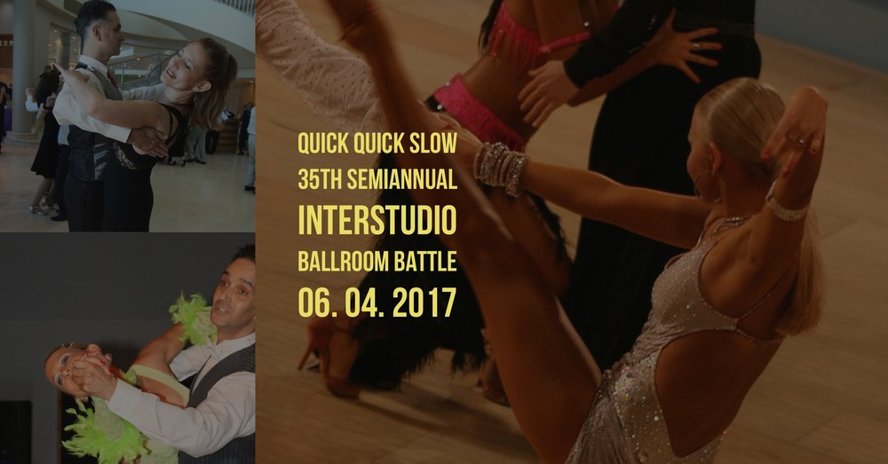 Twice a year students from Quick Quick Slow and other local ballroom dance studios compete to win at The Ballroom Battle