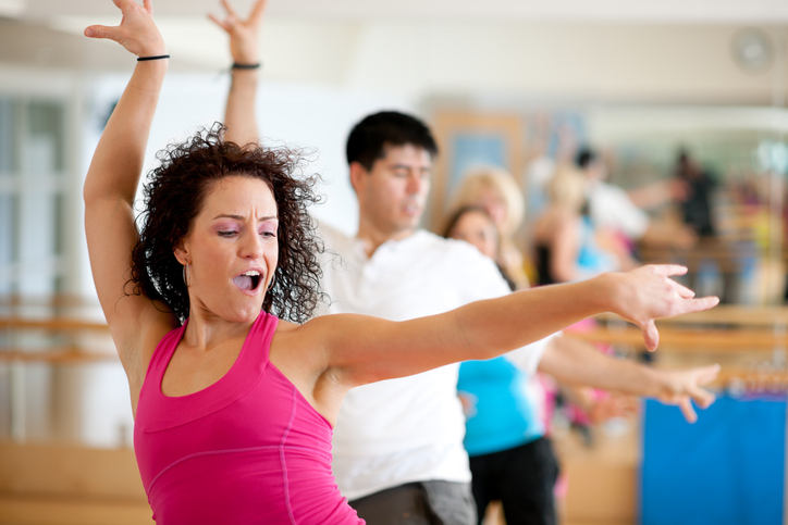 Dancing to build core strength