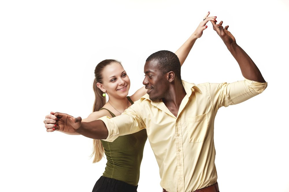 A ballroom dance studio is the perfect place to create and try out your own dance choreography.