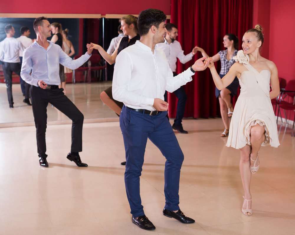 Ballroom dancing classes concept. Dating ideas concept
