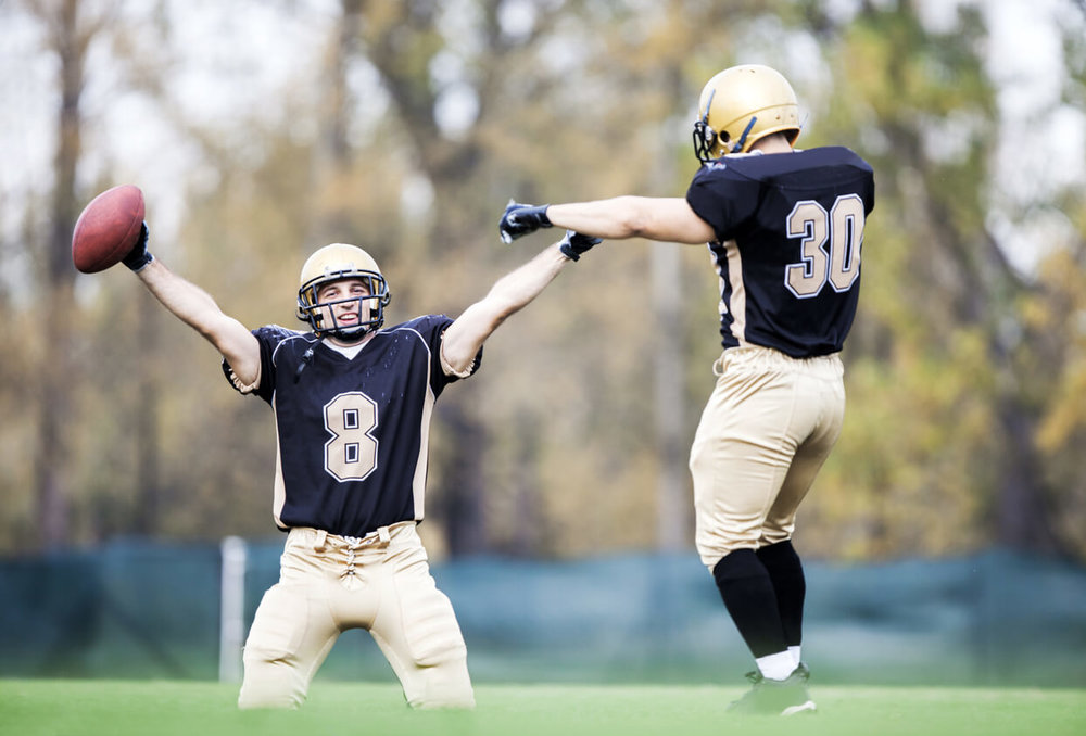 Why Every Football Player Should Take Ballroom Dance Lessons.Dancing and Celebrating