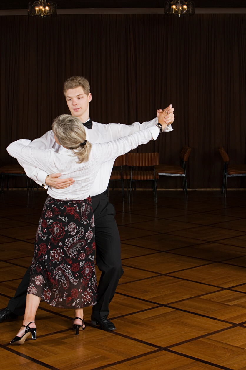 Ballroom Dancing. Ballroom Dancing Lesson