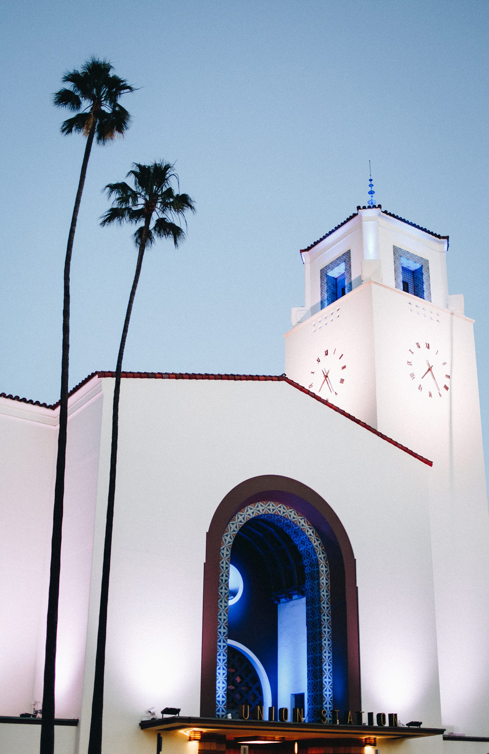 Union Station Exterior, Shot in Los Angeles | Architectural Photography