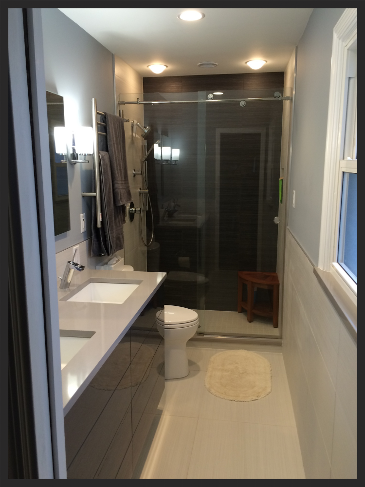 Modern Contemporary Olivette Bathroom Remodel-Thompson Price Kitchens, Baths & Home