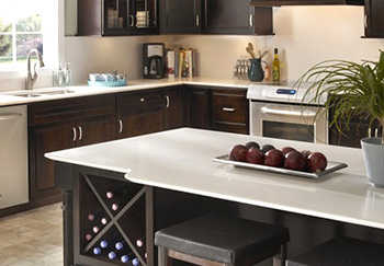 quartz countertops st louis quartz has been around as surface material for few decades now and is literally comprised of the most abundant mineral in graniteu2026 quartz best kitchen countertop material st louis