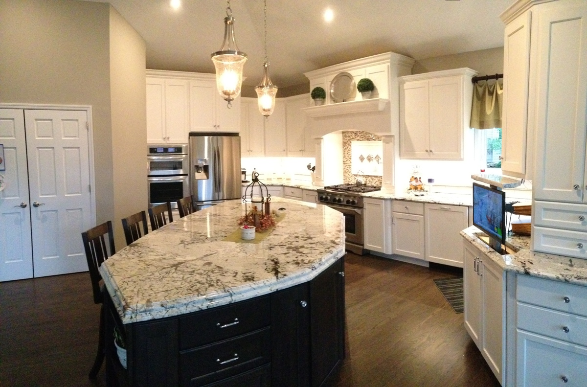 & Best Kitchen Countertop Material St. Louis