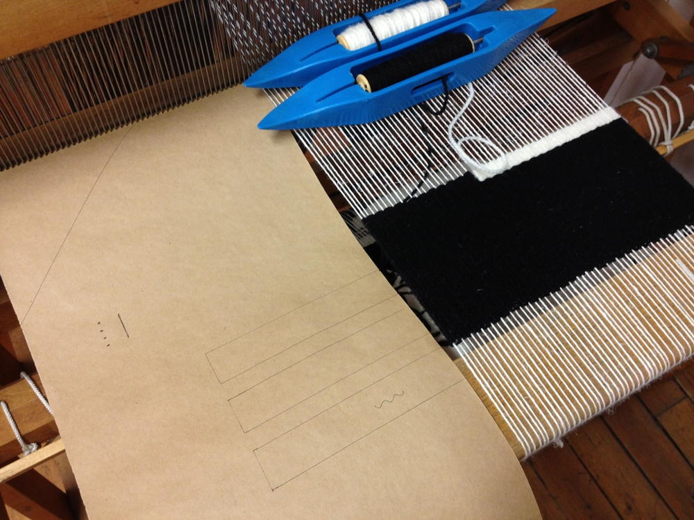 Drafts to weave