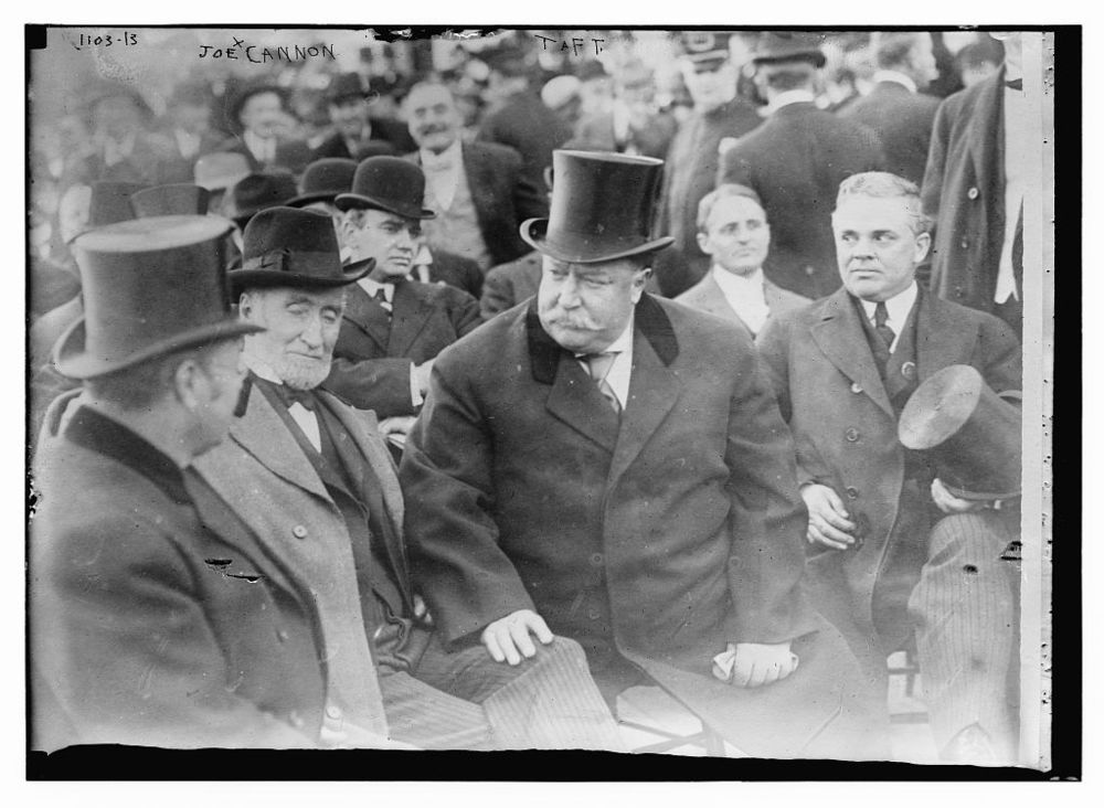 President William H. Taft with Speaker Joseph G. Cannon