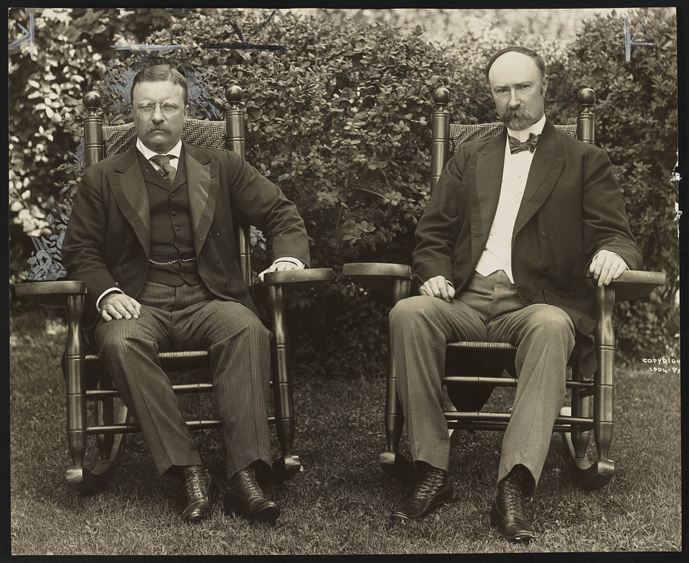 Pres. Theodore Roosevelt and VP Charles Fairbanks