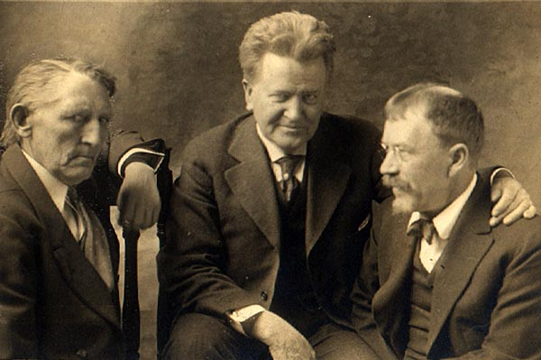 Andrew Furuseth, Robert M. La Follette and Lincoln Steffens