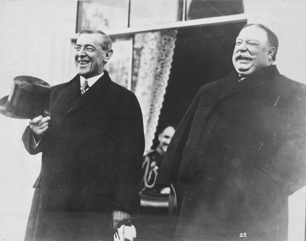 President Taft and President-Elect Wilson