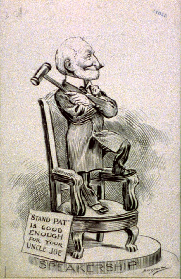 Stand Pat Is Good Enough for Your Uncle Joe - 1900-1906