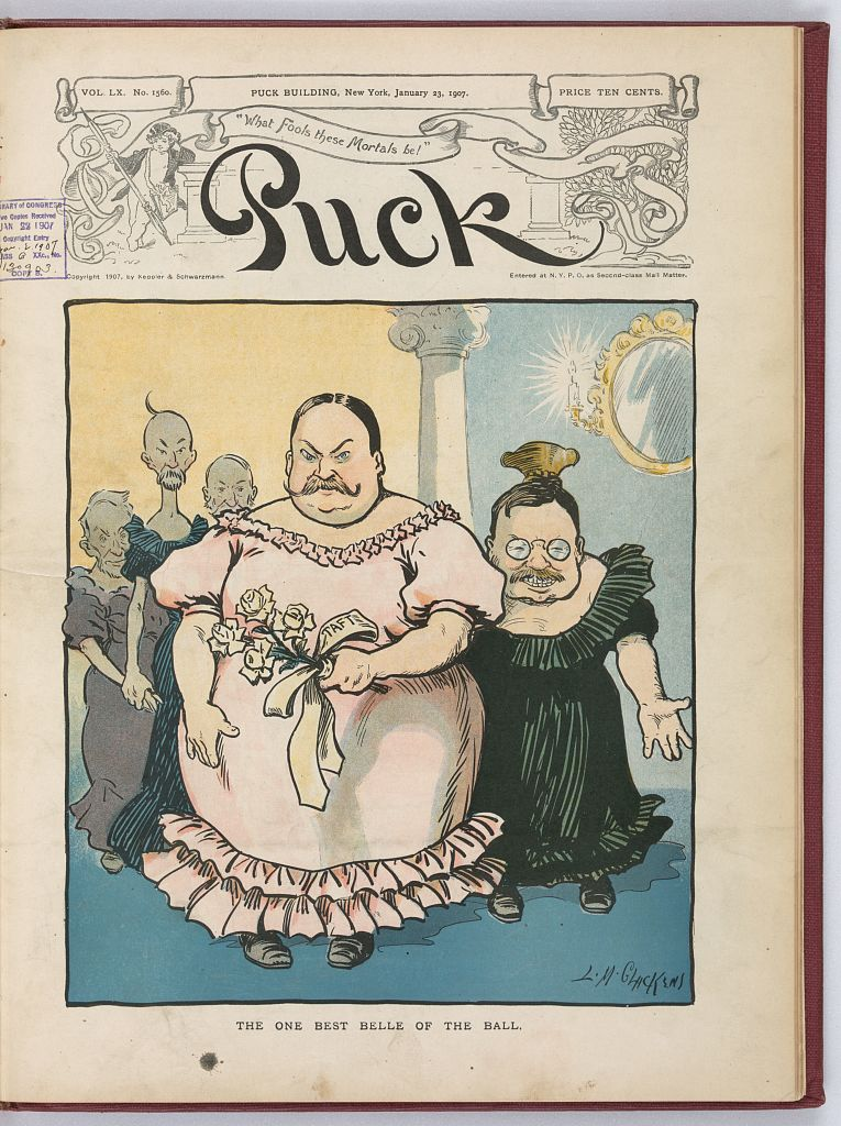 The One Best Belle of the Ball - Jan. 23, 1907