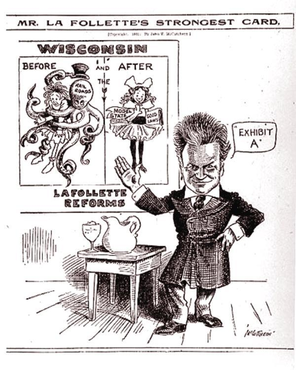 Mr. La Follette's Strongest Card - Dec. 29, 1911