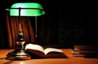 Yesterday's Light on the Desk......