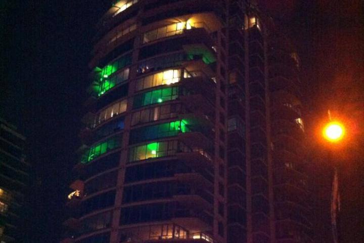 Vancouver Towers, Green Lights!