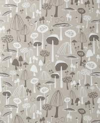 Vintage Mushroom Wallpaper