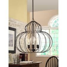 Mushroom Wire Chandelier, I would add vintage light bulbs.