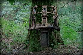 The BIG Person Tree House.........