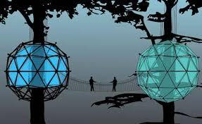 GLASS Orb Tree House