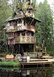 The Whimsy Tree House, taken from the crooked house.