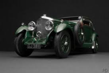 Vintage British Racing Green