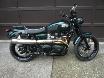 Vintage Triumph Motorcycle, varooooom!