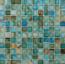 Green Blue Mosaic Tiles